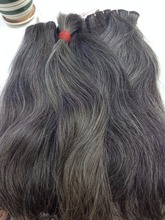 Straight Grey hair for factory/ for bleaching to get light blonde/ APO Vietnamese hair