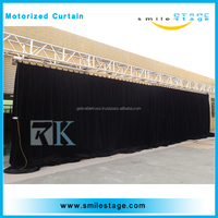 Modern design stage curtain motors with electric systems