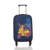 Artist Design Canvas Luggage Motorcycle