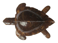 Decorative turtle coconut shell made in vietnam, high quality handicraft in gift, souvenir