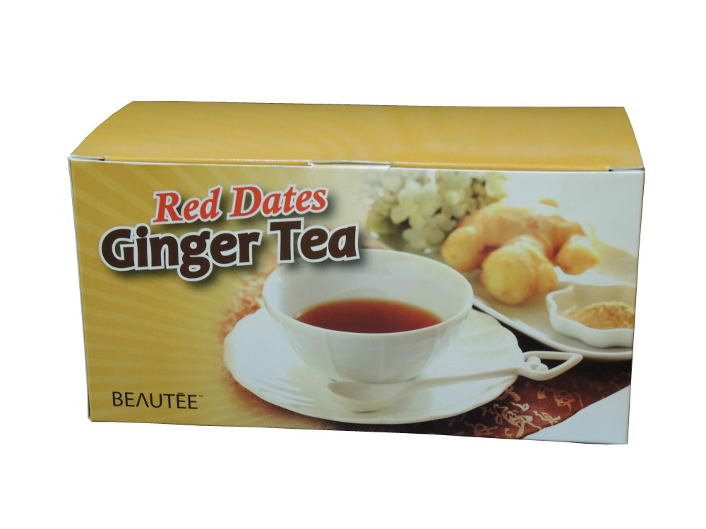 Red dates ginger tea