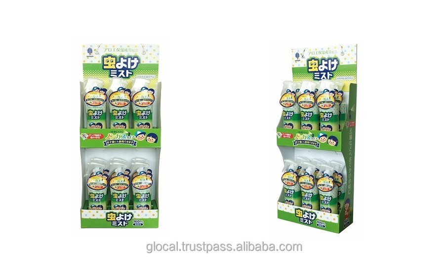 Japan Easy to use and Best-selling mosquito repellent spray insect repellent spray for baby and kids 160ml