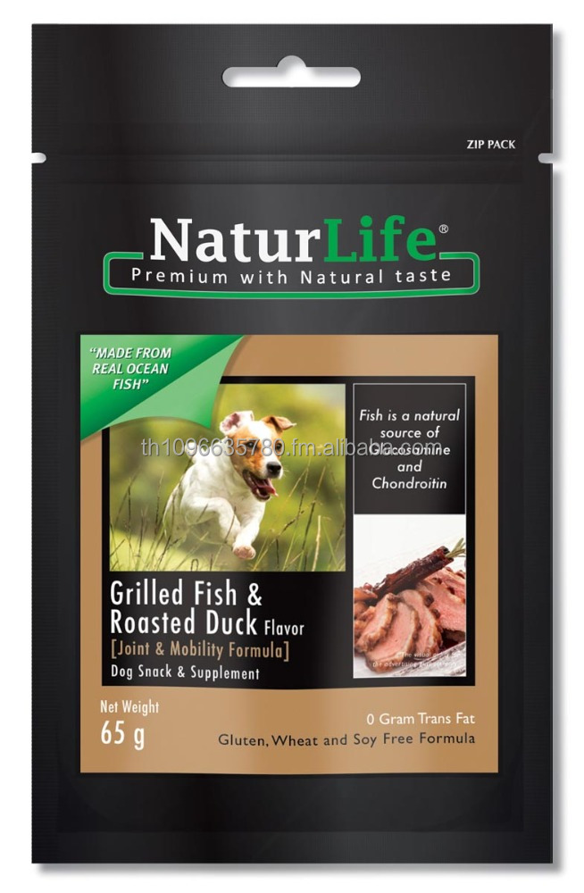 NaturLife Dog Snack & supplement - Grilled Fish & Roasted Duck Flavor ( Joint & Mobility Formula )
