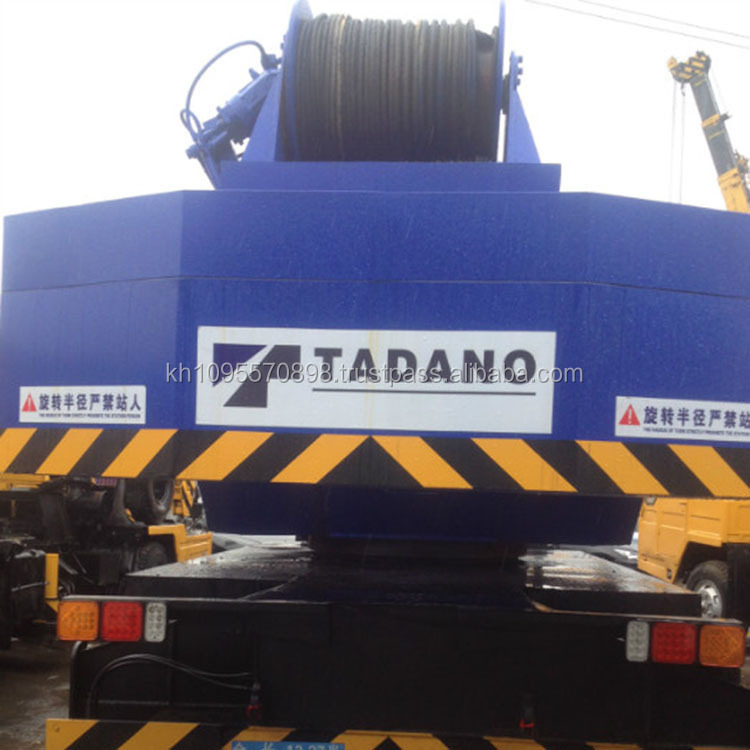 Japan high-quality GT550E all rough crane. Tadano 55ton truck crane for sale in Shanghai