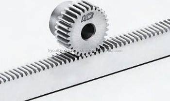 Rack gear Module 0.8 Length 500mm Stainless steel Made in Japan KG STOCK GEARS