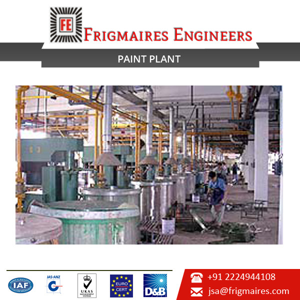 Paint Manufacturing Plant from India