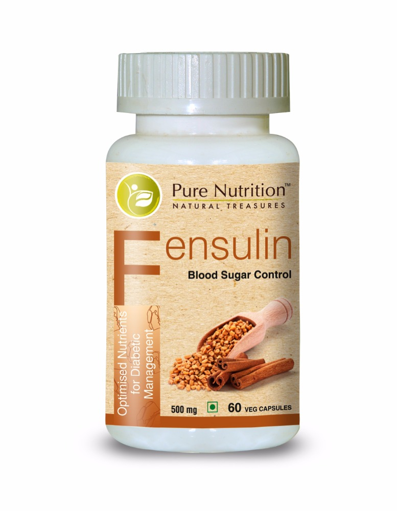 Pure Nutrition Fensulin (Optimised Nutrients for Diabetic Management)