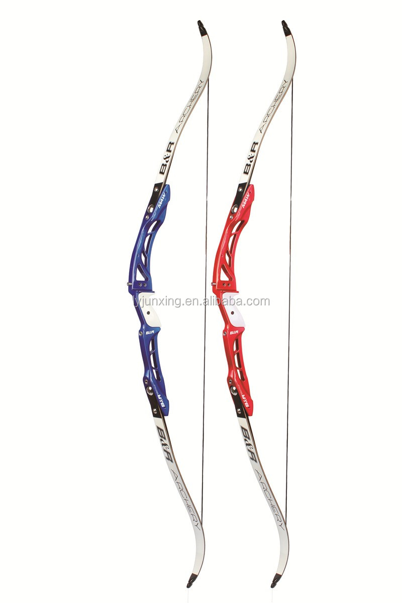 ISO certification ILF riser limb F165 shooting bow archery from china