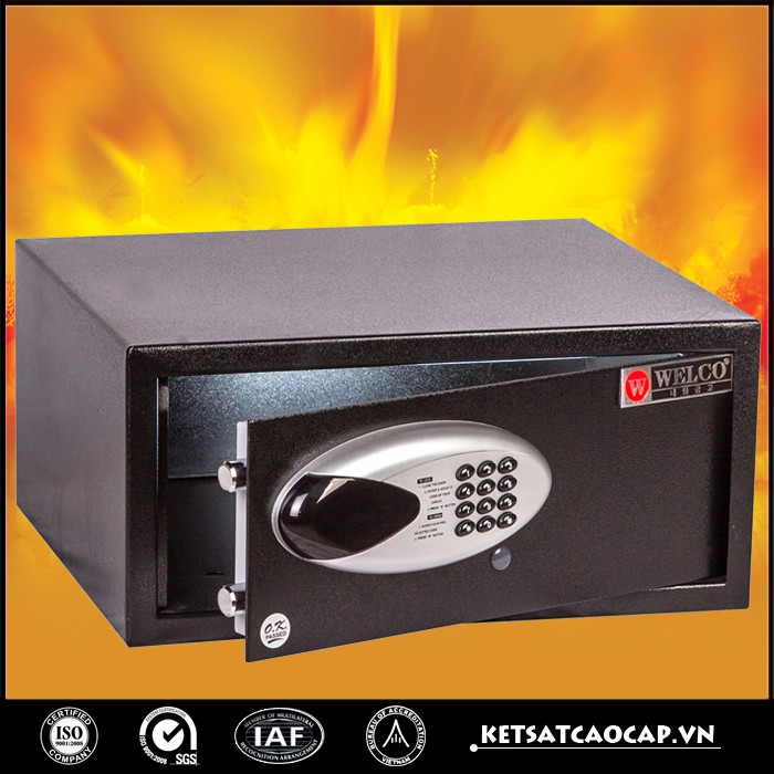 Hot selling electronic - digital safe box for hotel - KS42