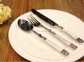 Flatware European Best Quality Set Made of Brass Handle With Resin Upper Parts is of Stainless Steel