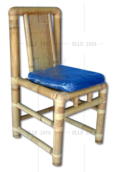 Bamboo Dining Chair with Good Quality Cushion