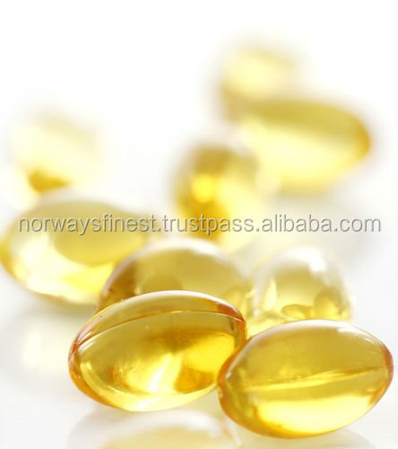 Finest Quality (Softgel) Omega-3 Cod Liver Oil Capsules