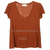 Womens blank Basic Deep V Neck