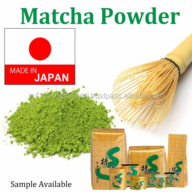 High quality and Japanese matcha green tea drink , sample available