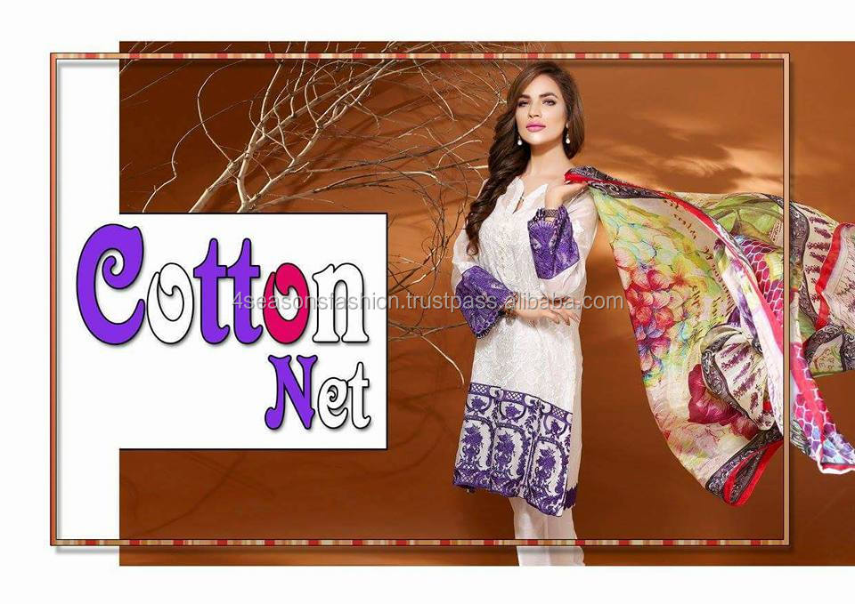 Fancy Embroidered Pure Chiffon Suit