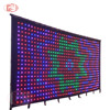 4m*6m P9cm PC Version hot sale led curtain video screen, led curtain display