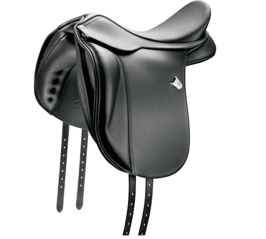 Double Leather Horse Dressage Saddle - Genuine Cowhide Leather Saddle