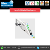 Handheld Label Applicators with Advance Standard Features