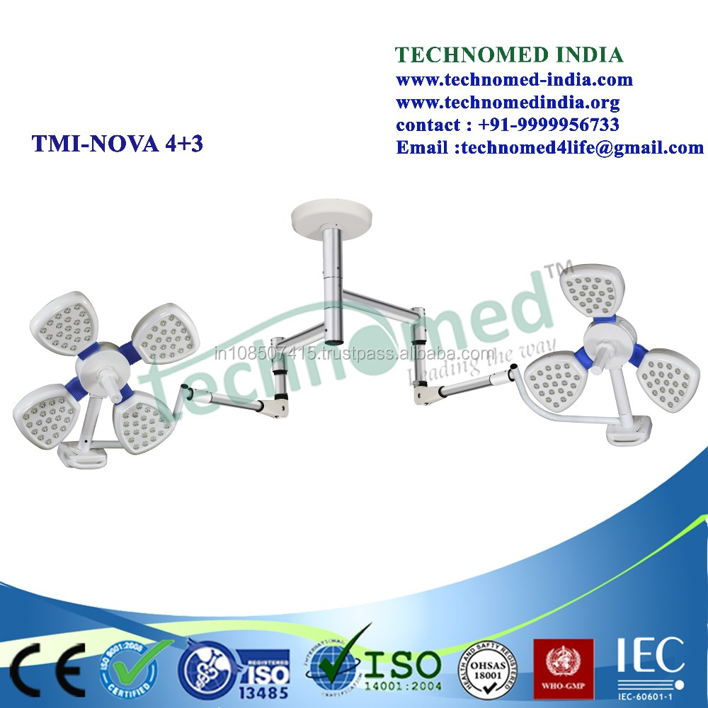 Excellent quality new products surgery surgical shadowless lamp,medical ceiling shadowless operating lamps led surgical lights