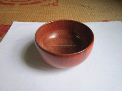 Polished wooden bowl, vietnam handicraft high quality, used for decoration, dinner, storage at home, restaurant