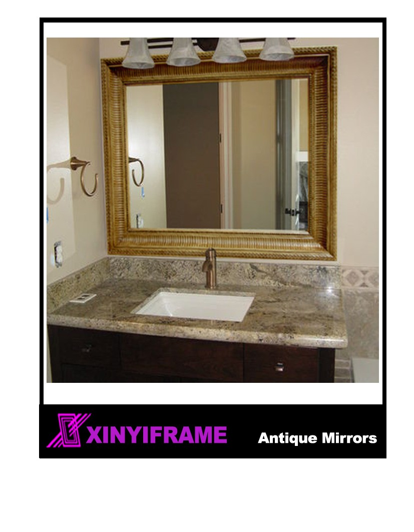 bedroom large size classic mirror with European style