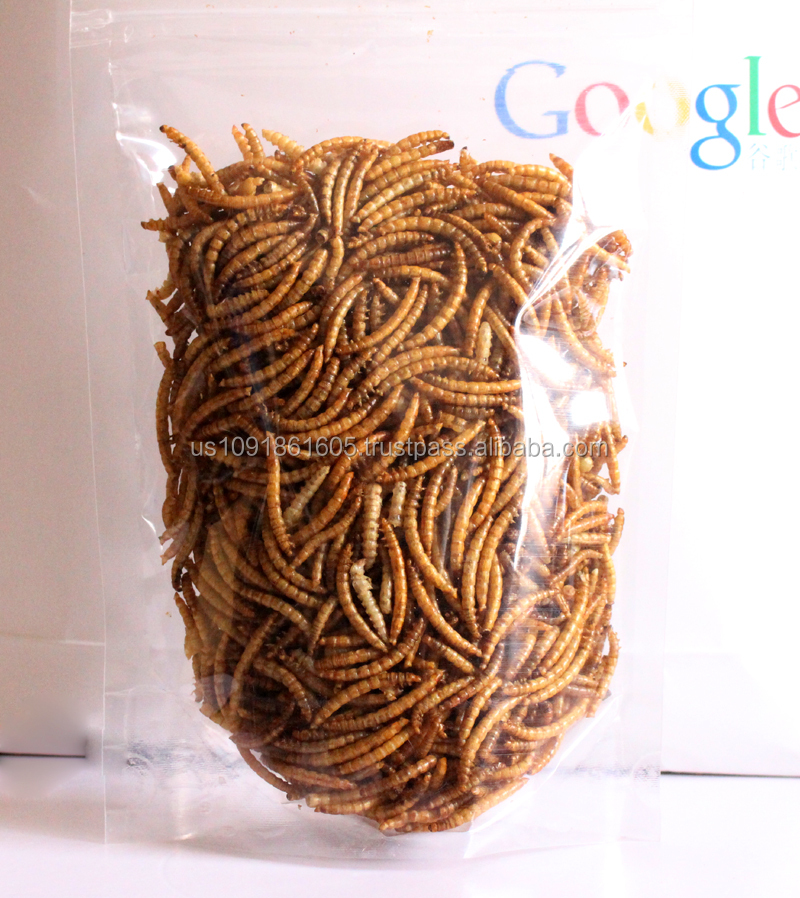 Wholesale Dried Mealworms Plastic Zipper Bag
