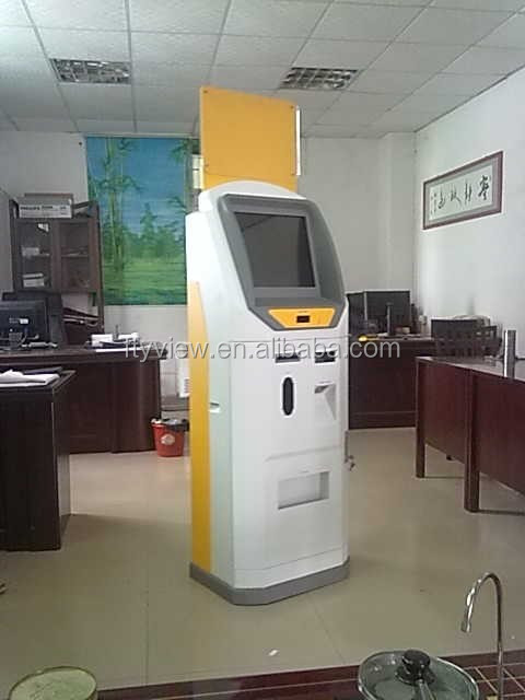 Information kiosk machine self service payment kiosk machine self check out machine
