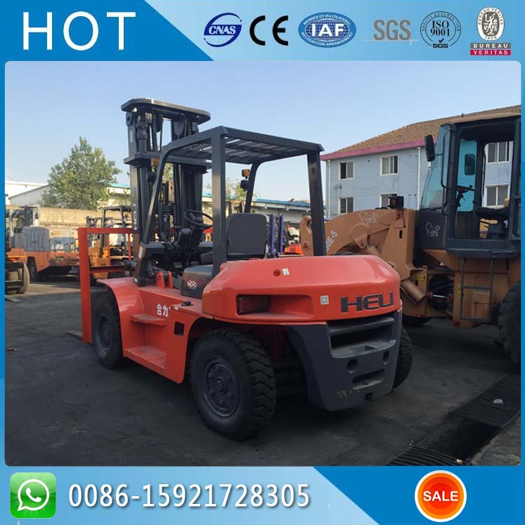8 Ton Used Forklift Trucks / Used Heli Forklift For Sale in Singapore