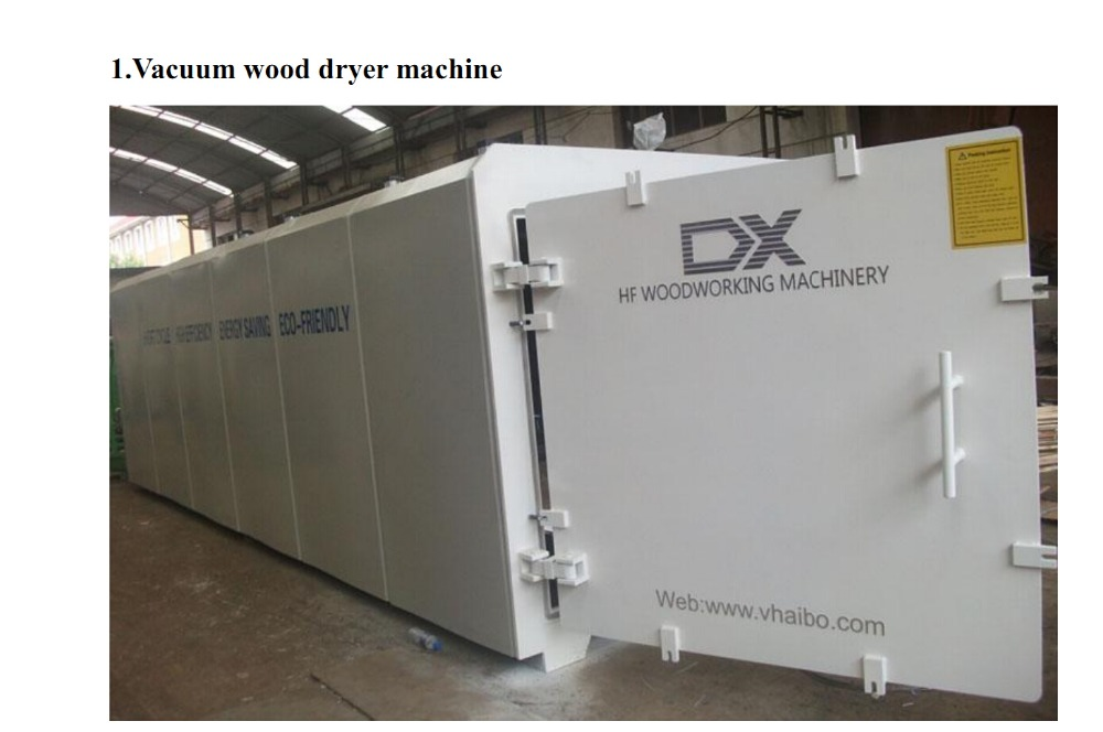 wood drying system/vacuum Drying Chamber for Wood