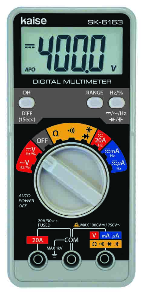 SK-6163 Handy Type Digital Multimeters
