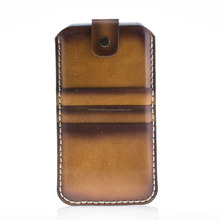 Vintage Style Leather Phone Pouch Case 7