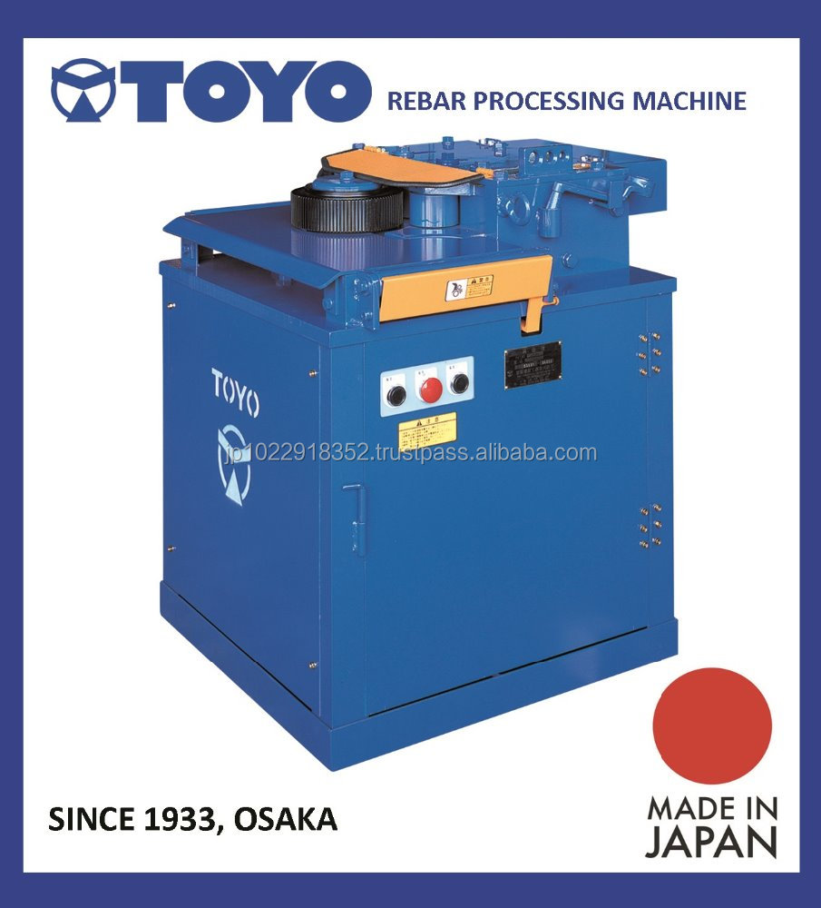 "Durable rebar ring bending unit ""TOYO"" for all concrete structures , AUTOMATIC MACHINES also available"