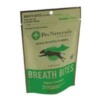 Breath Bites for Dogs, 21 pc by Pet Naturals of Vermont