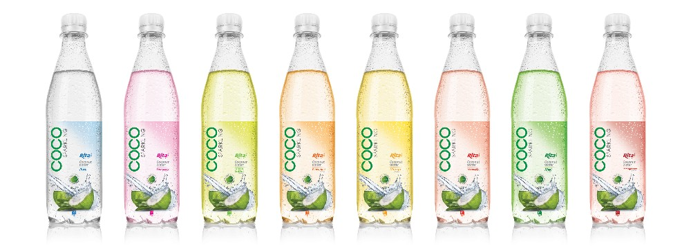450ml Pet Bottle Sparkling Coconut Water