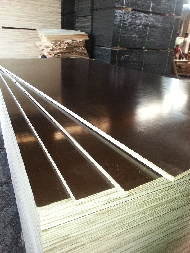 Film faced plywood for construction/furniture/other purposes