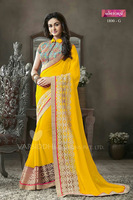 EXCLUSIVELY NET DESIGNER SAREES