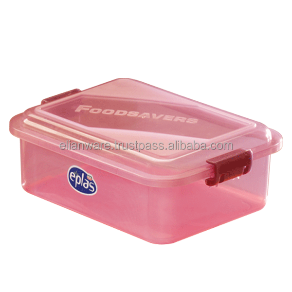 Transparent Plastic Food Container Storage Kitchenware