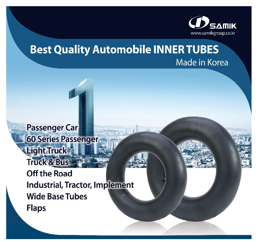 DIASTONE BUTYL INNER TUBE MADE IN KOREA