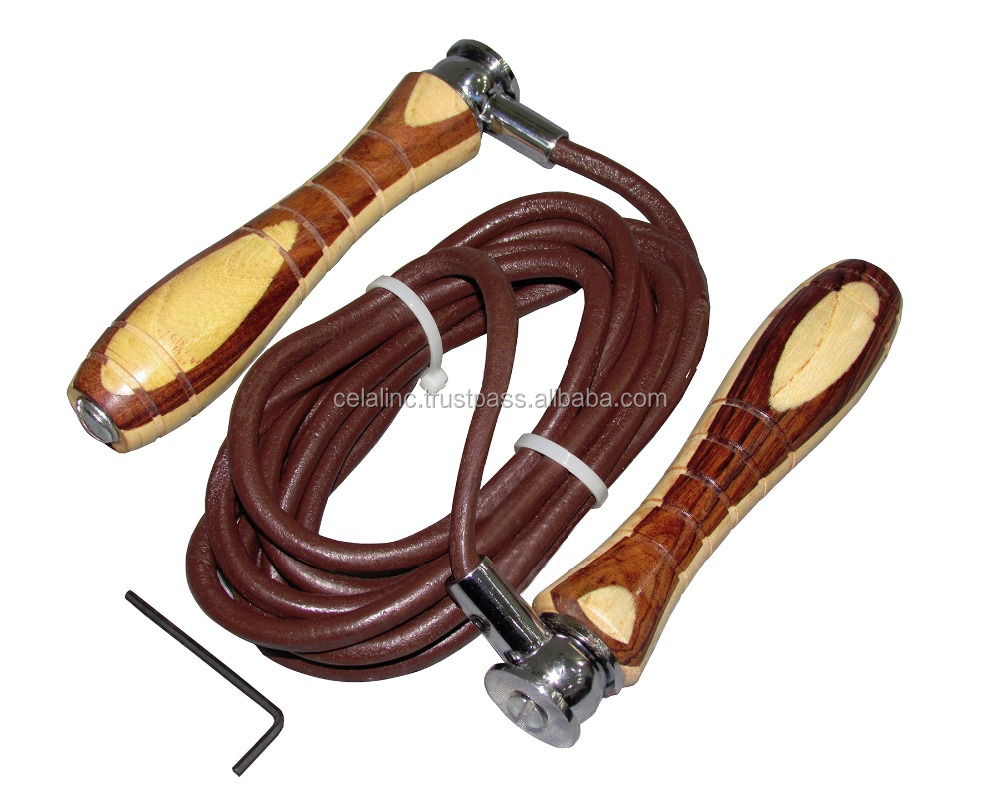 Adjustable Weighted Skipping Rope