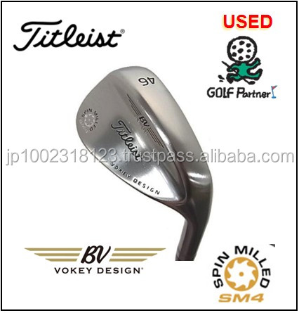 Cost-effective and popular golf driving iron and Used Wedge Titleist VOKEY SPIN MILLED SM4 Tour Chrome for resell , deffer model