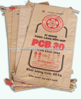 kraft paper cement bag good price