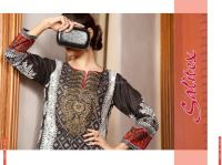 SK-02- Salitex Lawn ladies kurta designs designer fancy kurti latest kurti designs in karachi