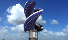 hybrid wind solar home power system