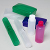 TRAVEL DISPLAY 225PCS W/100 TOOTHBRUSH HOLDERS/75 2OZ BOTTLE #02150A