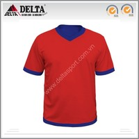 Kid printing logo polyester soccer jersey