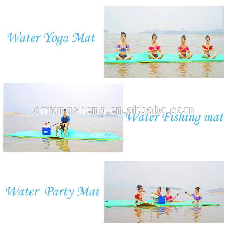 2016 New design giant floating mats for the lake/pool/doggy /water pads