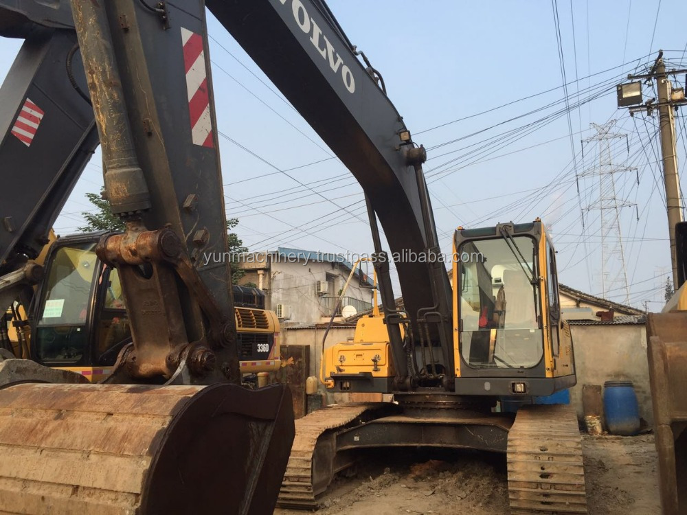 Used Heavy machine Volvo 210BLC Excavator