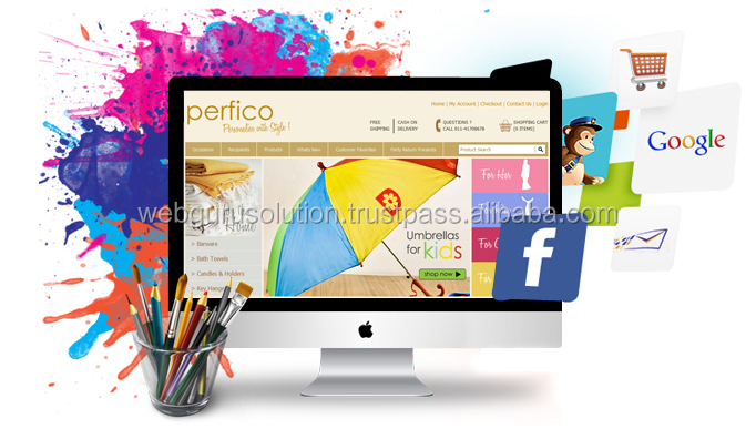 Static Website designing and development Special Purpose Bags & Cases