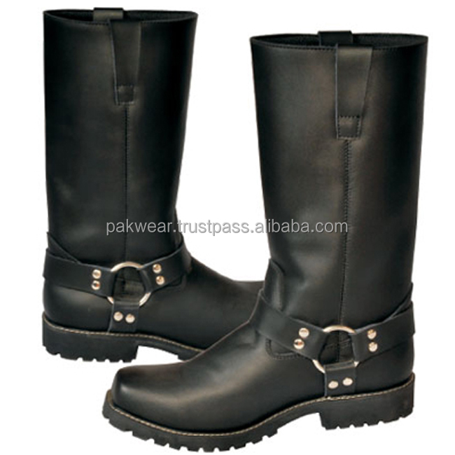 Chopper long leather Boots PW-1007