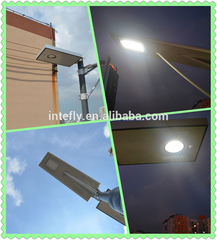 100 watt ip camera 50w 24v led solar street lights with pole IP66 Rated